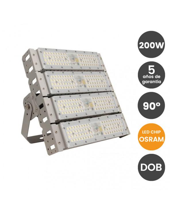 Proyector LED 200W DOB...