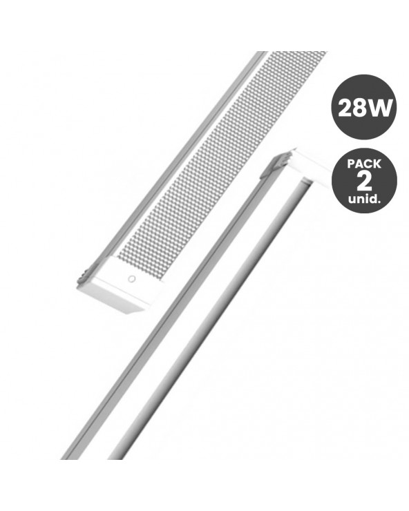 Barra LED 28W Lineal para...