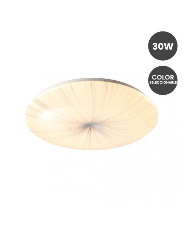 Plafón LED Superficie 30W -...